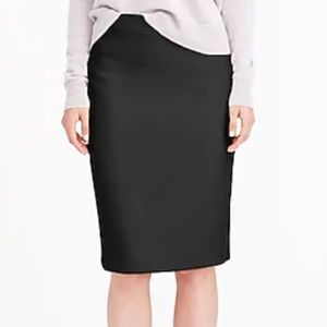 J.Crew No. 2 pencil skirt in double-serge wool-T16